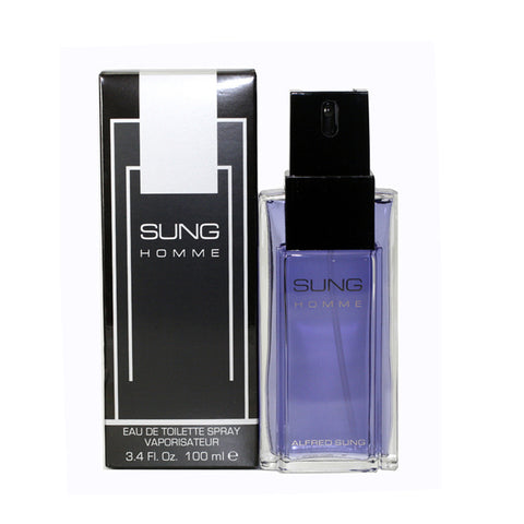 SU34M - Sung Eau De Toilette for Men - 3.4 oz / 100 ml Spray