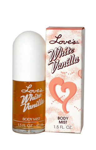 LOV45W - Love'S White Vanilla Body Mist Spray for Women - 1.5 oz / 45 ml