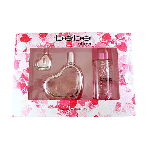 BBS33 - Bebe Sheer 3 Pc. Gift Set for Women