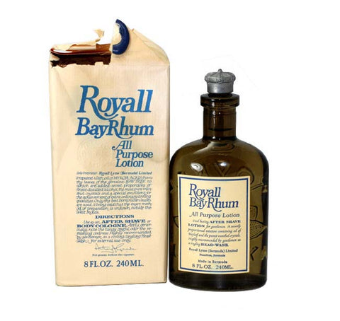 R789D - Royall Fragrances Royall Bayrhum Of Bermuda All Purpose Lotion for Men | 8 oz / 240 ml - Damaged Box