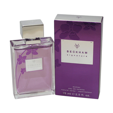 DBS13 - Beckham Signature Eau De Toilette for Women - Spray - 2.5 oz / 75 ml
