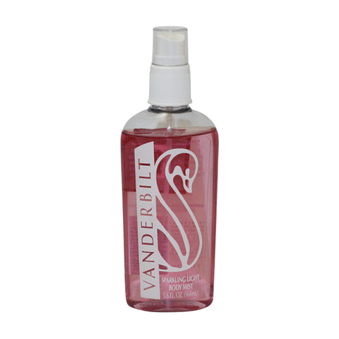 VAN328 - Vanderbilt Light Body Mist for Women - 5.6 oz / 166 ml