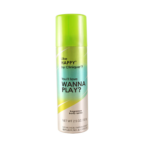 WAP20 - Wanna Play Deodorant for Women - 2.5 oz / 75 ml