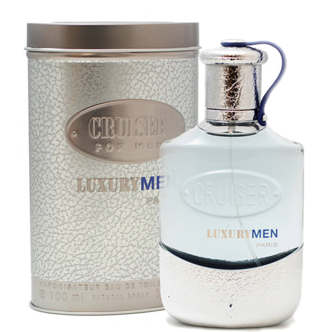 CRU52M - Cruiser Luxury Eau De Toilette for Men - Spray - 3.3 oz / 100 ml