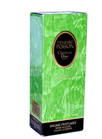 TE29 - Tendre Poison Perfumed Body Mist for Women - 3.4 oz / 100 ml - Alcohol Free