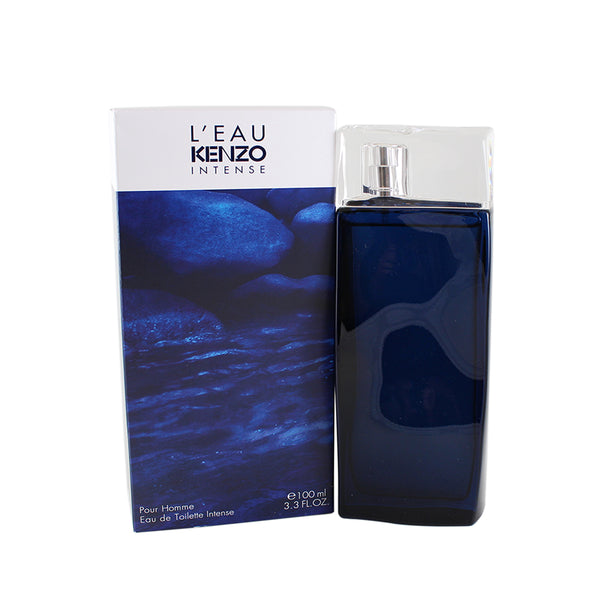 LK33M - L'Eau Par Kenzo Intense Eau De Toilette Intense for Men - 3.3 oz / 100 ml