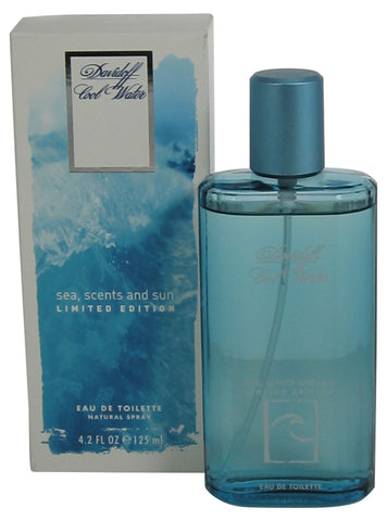CO105M - Cool Water Sea Scents & Sun Eau De Toilette for Men - Spray - 4.2 oz / 125 ml - Limited Edition 2005