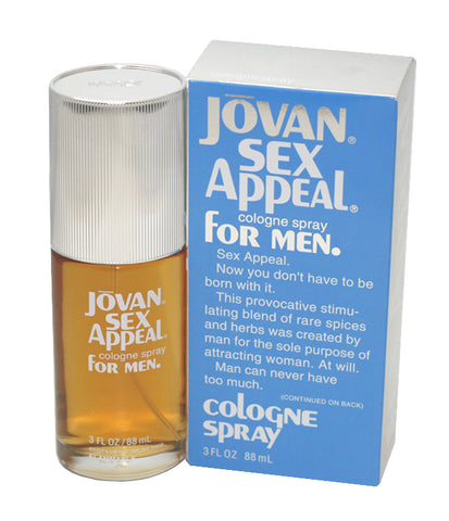 JO73M - Jovan Sex Appeal Cologne for Men - 3 oz / 88 ml Spray
