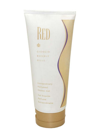RE912U - Giorgio Beverly Hills Red Shower Gel for Women 6.8 oz / 200 g Unboxed