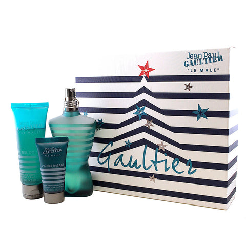 JE326M - Jean Paul Gaultier Le Male 3 Pc. Gift Set for Men