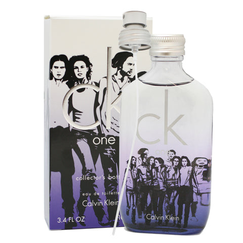 CK53M - Ck One Eau De Toilette Unisex - Spray - 3.4 oz / 100 ml - Collector's Bottle