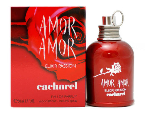 AMP12 - Amor Amor Elixir Passion Eau De Parfum for Women - Spray - 1.7 oz / 50 ml