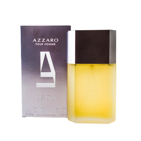 AZL34M - Azzaro L'Eau Eau De Toilette for Men - 3.4 oz / 100 ml Spray
