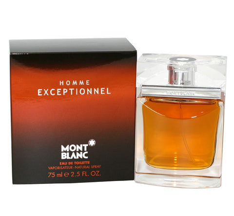 MOE25M - Mont Blanc Exceptionnel Homme Eau De Toilette for Men - Spray - 2.5 oz / 75 ml