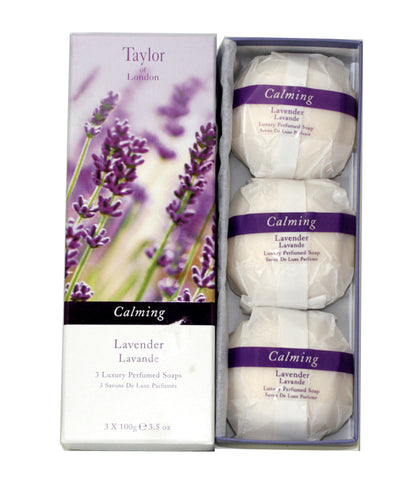 TOL35 - Taylor Of London Lavender Soap for Women - 3.5 oz / 105 ml