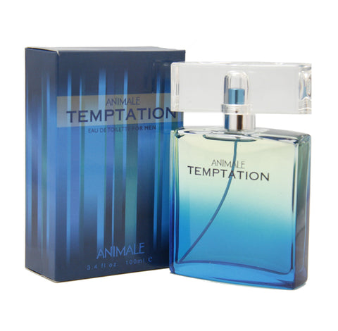 AN57M - Animale Temptation Eau De Toilette for Men - Spray - 3.4 oz / 100 ml