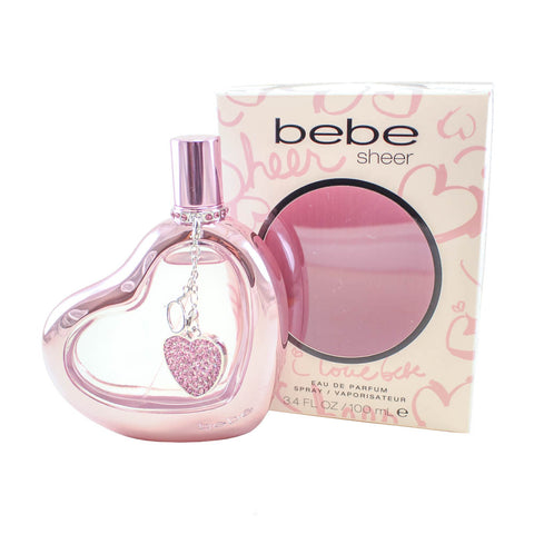 BBS34 - Bebe Sheer Eau De Parfum for Women - 3.4 oz / 100 ml Spray