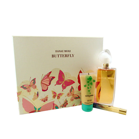 HAB01 - Hanae Mori Butterfly 3 Pc. Gift Set for Women