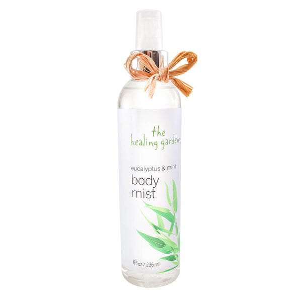 HGEM8 - The Healing Garden Eucalypyus & Mint Body Mist for Women - 8 oz / 236 ml