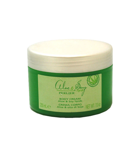 PG58W - Perlier Aloe & Soy Lipids Body Cream for Women - 7 oz / 200 g