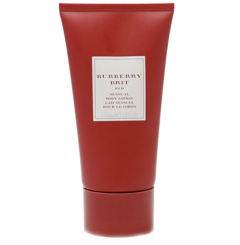 BRI41 - Burberry Brit Red Body Lotion for Women - 5 oz / 150 ml - Tester