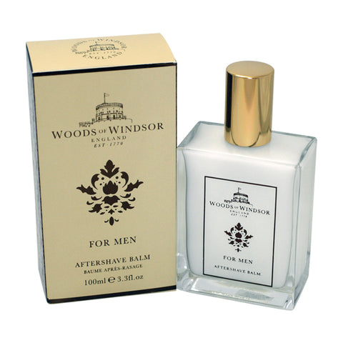 WOW34M - Woods Of Windsor Aftershave for Men - Balm - 3.3 oz / 100 ml