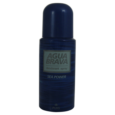 AGU12M - Agua Brava Sea Power Deodorant for Men - Spray - 5 oz / 150 ml