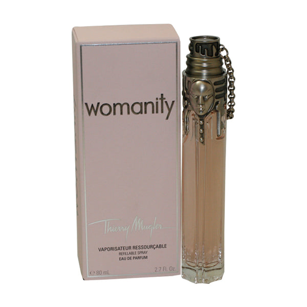 WOM27 - Womanity Eau De Parfum for Women - Refillable - 2.7 oz / 80 ml Spray