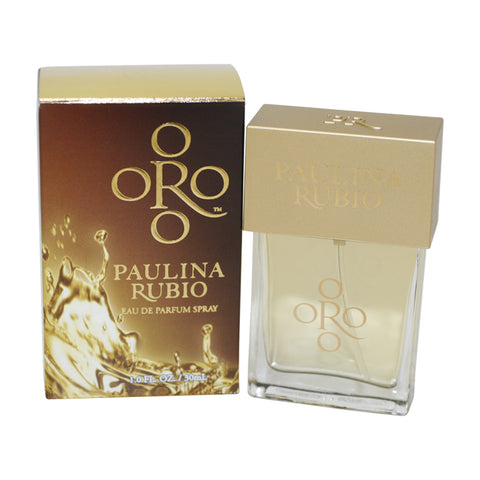 PRB10 - Paulina Rubio Oro Eau De Parfum for Women - Spray - 1 oz / 30 ml