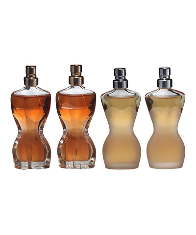 JPG4 - Jean Paul Gaultier Classique 4 Pc. Gift Set for Women - 2 x EDT 0.2 oz + 2 x EDP 0.2 oz Intense