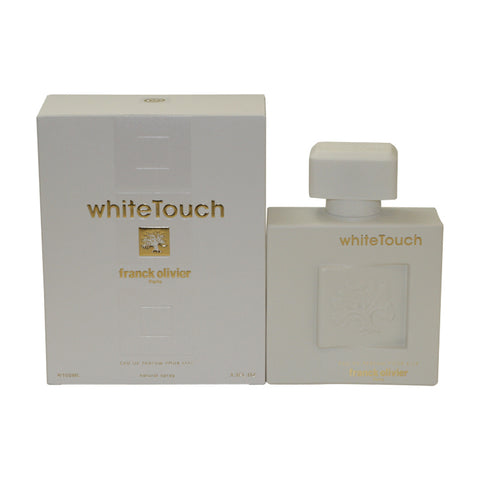 FRWT25 - Franck Olivier White Touch Eau De Parfum for Women - 3.3 oz / 100 ml Spray