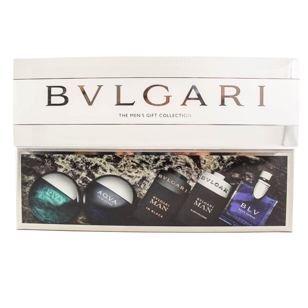 BVL8M - Bvlgari Mens Gift Collection 5 Pc. Gift Set for Men