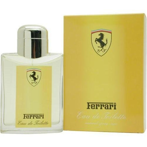 FER21 - Ferrari Yellow Eau De Toilette for Men - Spray - 4.2 oz / 125 ml
