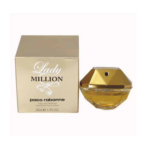 MILL17W - Lady Million Eau De Parfum for Women - 1.7 oz / 50 ml Spray