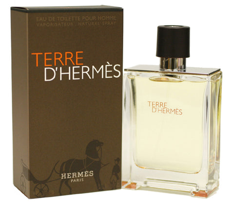 TER28M - Terre D' Hermes Eau De Toilette for Men - 6.7 oz / 200 ml Spray
