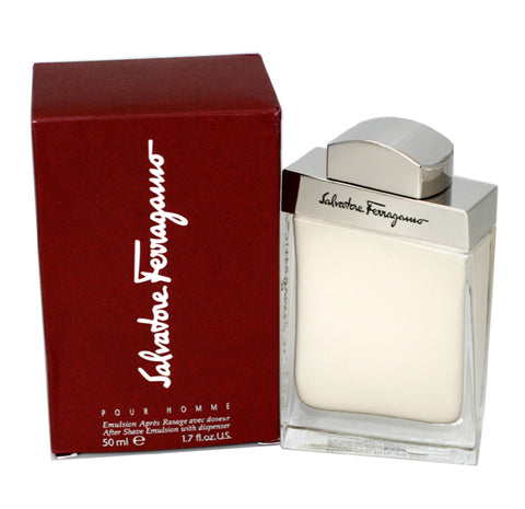 SA258M - Salvatore Ferragamo Aftershave for Men - 1.7 oz / 50 ml