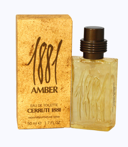 CI82M - Cerruti 1881 Amber Eau De Toilette for Men - Spray - 1.7 oz / 50 ml