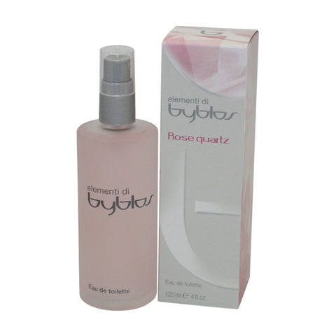 BRQ40 - Byblos Rose Quartz Eau De Toilette for Women - 4 oz / 120 ml Spray