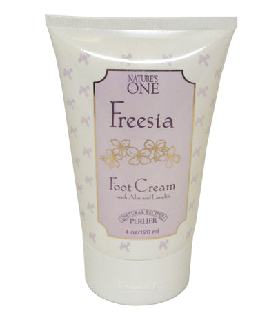 PG69W - Perlier Nature'S One Freesia Foot Cream for Women - 4 oz / 120 g
