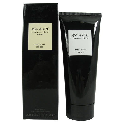 BLA38 - Kenneth Cole Black Body Lotion for Women 6.7 oz / 200 ml