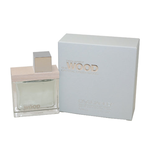 DQC17 - Dsquared2 She Wood Crystal Creek Wood Eau De Parfum for Women - Spray - 1.7 oz / 50 ml