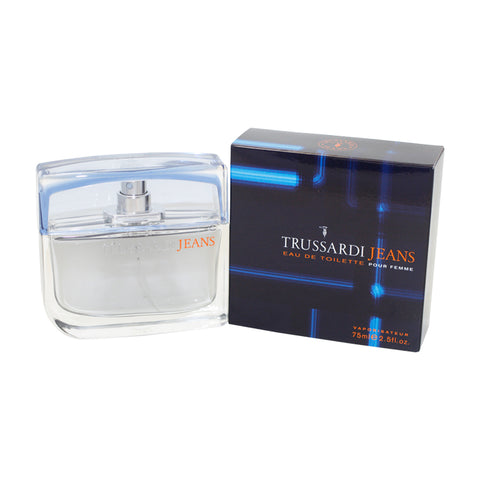 TR76 - Trussardi Jeans Eau De Toilette for Women - Spray - 2.5 oz / 75 ml