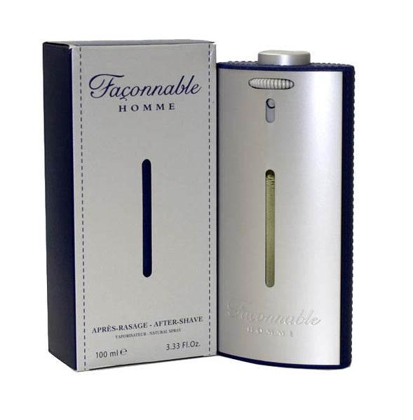 FA30M - Faconnable Homme Aftershave for Men - 3.33 oz / 100 ml Liquid