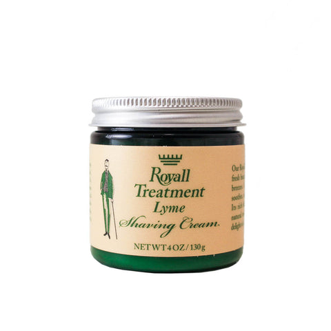 RL4M - Royall Lyme Of Bermuda Shaving Cream for Men - 4 oz / 120 ml