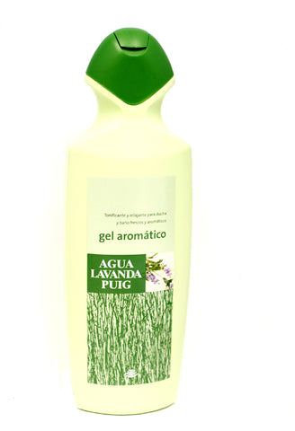 AQU5M - Agua Lavanda Puig Shower Gel for Men - 25.5 oz / 750 ml