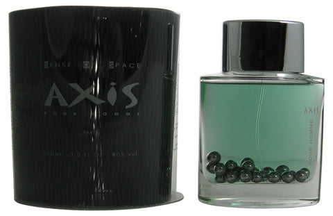 AX14M - Axis Pour Homme Eau De Toilette for Men - Spray - 3.3 oz / 100 ml