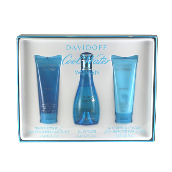 CO411 - Cool Water 3 Pc. Gift Set for Women
