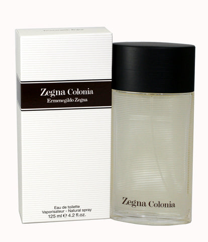 ZEG42M - Zegna Colonia Eau De Toilette for Men - Spray - 4.2 oz / 125 ml
