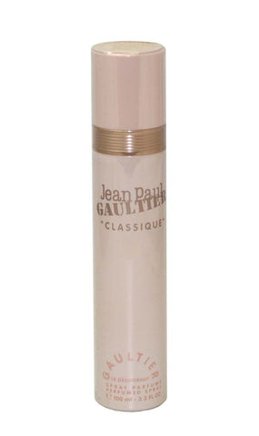 JE334 - Jean Paul Gaultier Classique Deodorant for Women - Spray - 3.3 oz / 100 ml - Perfumed Deodorant