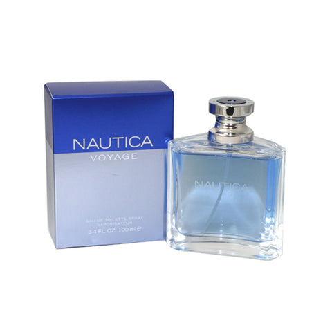 NAU17M - Nautica Voyage Eau De Toilette for Men - 3.4 oz / 100 ml Spray